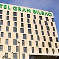 Imagen de la fachada del Hotel Gran Bilbao